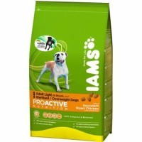 Iams adult light para perros