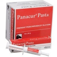 Antiparasitario interno panacur pasta oral