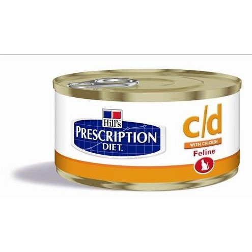 Comida humeda hill's prescription diet feline c/d