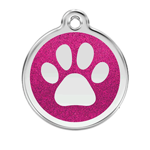 Placa identificativa con huella para perros for Placas decoradas para pared