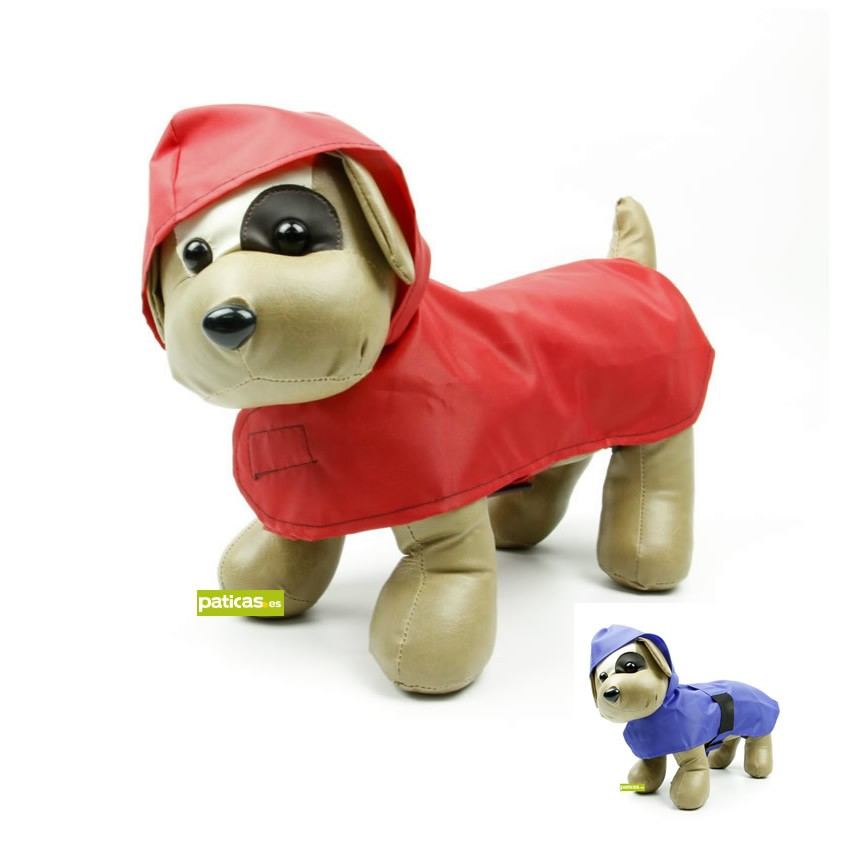 Impermeable color para perro