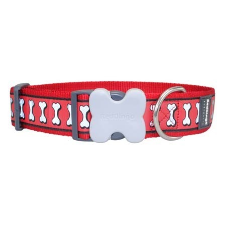 Collar reflectante de nylon para perros