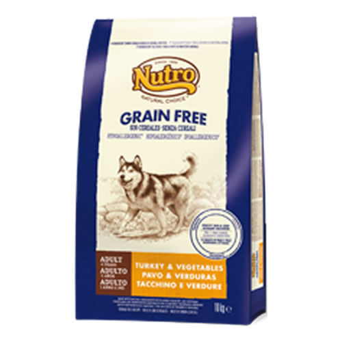 Pienso Nutro Natural Choice Grain Free con pavo