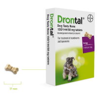 Drontal plus antiparasitario interno para perros