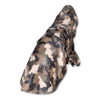 Impermeable camuflaje para perros