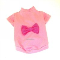 Camiseta pretty dog rosa t-30