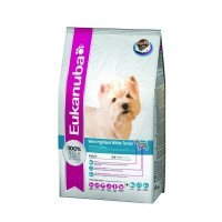 Pienso eukanuba west highland white terrier