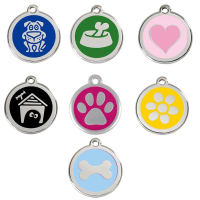 Placas identificativas Red Dingo para perro