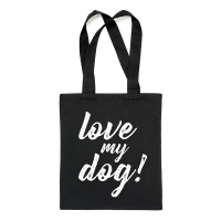 "Bolsa tote ""Love my dog"""