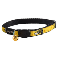 Collar para gatos FancyCat amarillo con abejas