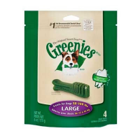 Greenies Snack de cuidado dental para perros Large 23-45 kg.