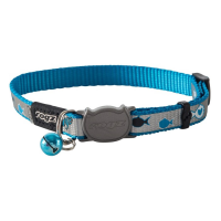 Collar para gatos Rogz reflectante azul Reflectocat