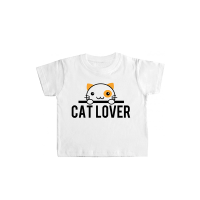"Camiseta bebé ""Cat Lover"""