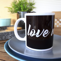 "Taza ""Love my cat"""