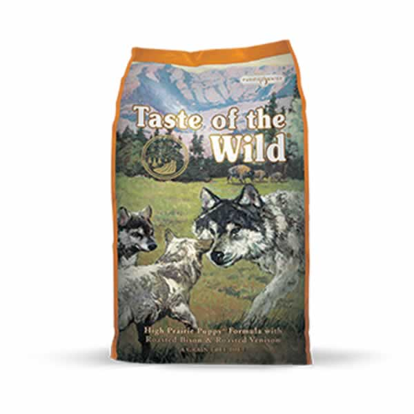 Pienso Taste of the Wild High Prairie Puppy con carne de bisonte y venado asados